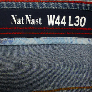 64c3ebdc Nat Nast Jeans - Nat Nast Luxury Stretch Straight Fit Jeans NWT